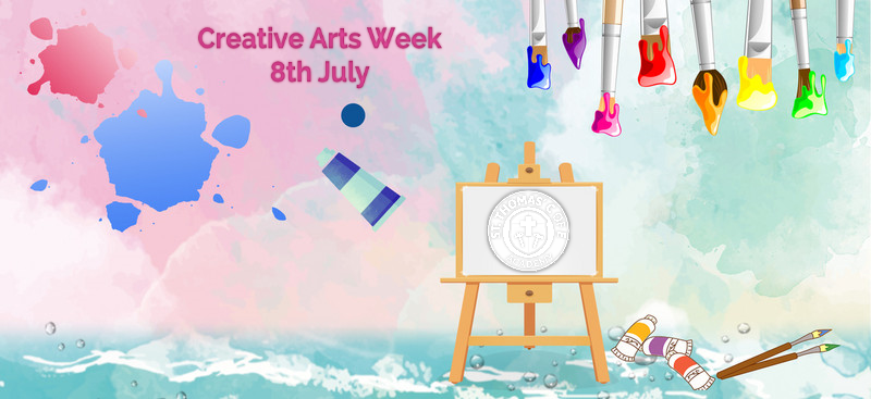 St Thomas' Creative Arts Week 8th July
